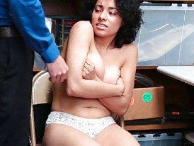 Teen Latina Maya Morena wants to go free and pay the price