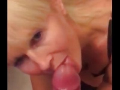 Mix tape of real amateur blowjobs and cumshots
