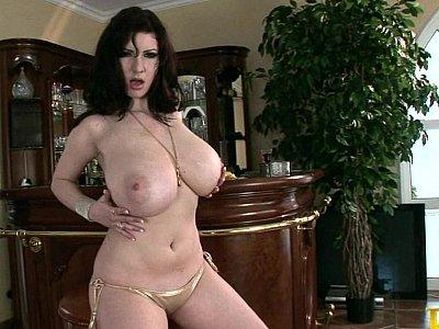 Nice massive natural tits