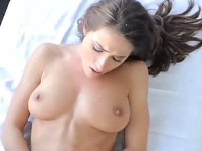 Young girl getting fucked on the massage table