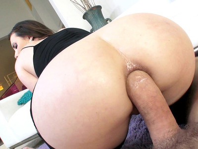 Casey Calvert rode that dick anally as her big ass bounced all over
