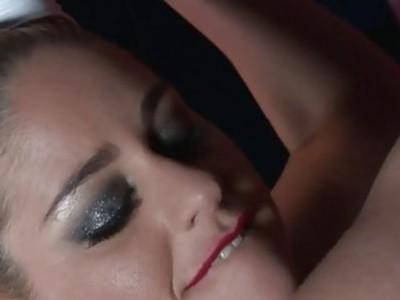 Blonde pornstar Cathy Heaven gets anal sex