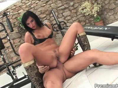 Slutty babe Renata Black loves hard anal sex