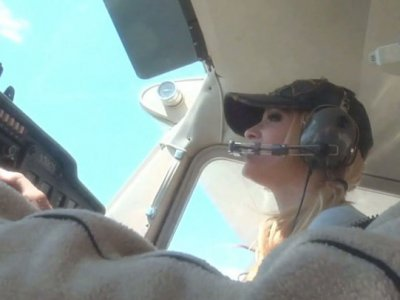 Romantic night in the desert with blonde babe Jessica Drake