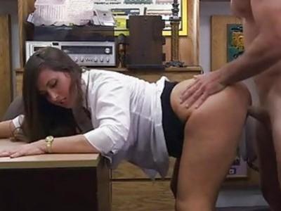Big ass amateur screwed by pawnkeeper