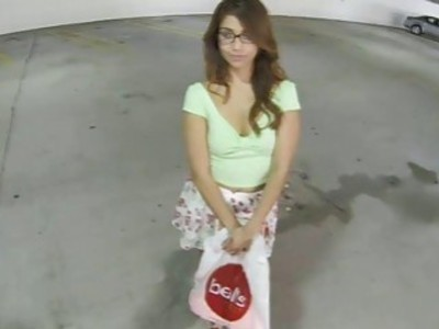 Teen chick Isabella De Santos loves hard cocks